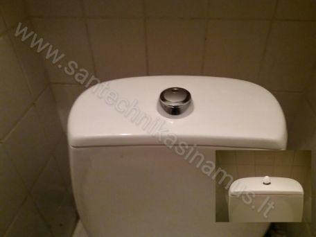 WC bekelių remontas